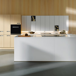 NX 620 Solid polar white | Fitted kitchens | next125