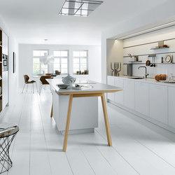 NX 800 Solid polarisweiß | Einbauküchen | next125