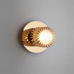 IN THE SUN | 190 wall gold/gold | Wall lights | DCW éditions