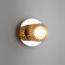 IN THE SUN | 190 wall silver/gold | Wall lights | DCW éditions