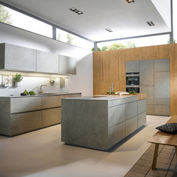 NX 950 Ceramic concrete grey effect | Fitted kitchens | next125