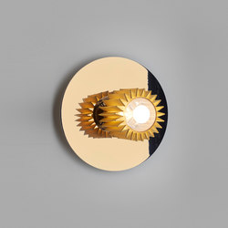 IN THE SUN | 270 wall gold/gold | Lampade parete | DCW éditions