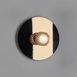 IN THE SUN | 380 wall gold/silver | Wall lights | DCW éditions