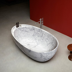 Eclipse In Marble | Free-standing baths | antoniolupi