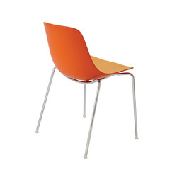 Ovvio-1 Stacking Side Chair | Chairs | Aceray