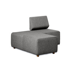 Team Basic Seating Module | Modular seating elements | Cascando