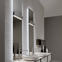 Lucente | Specchi da parete | antoniolupi