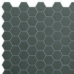 Hexa | Mosaic Green Echo | Mosaici ceramica | TERRATINTA GROUP
