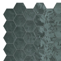 Hexa | Wall Green Echo | Carrelage céramique | TERRATINTA GROUP