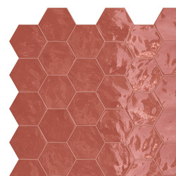 Hexa | Wall Cherry Pie | Carrelage céramique | TERRATINTA GROUP