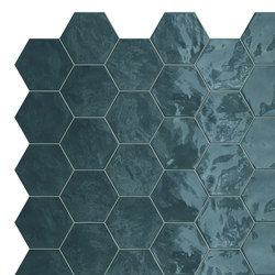 Hexa | Wall Ocean Wave | Ceramic tiles | TERRATINTA GROUP