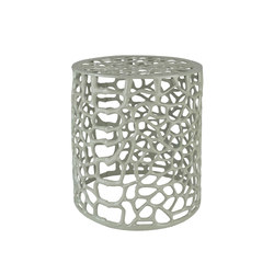 Organique Filigree Metal Stool | Taburetes | Pfeifer Studio