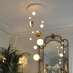 LUNE & SATELLITE | Suspended lights | DCW éditions