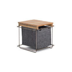 Grit / Stool | Storage boxes | bartmann berlin