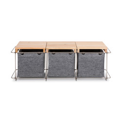 Grit / Bench | Storage boxes | bartmann berlin