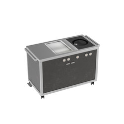 Cooking carts | Wok & Teppanyaki station | Steam ovens | La Tavola