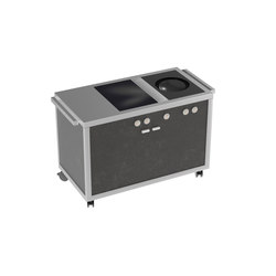 Cooking carts | Wok & Induction top station | Steam ovens | La Tavola