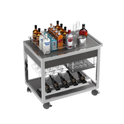 Special carts | Wine & Spirit cart | Modular kitchens | La Tavola