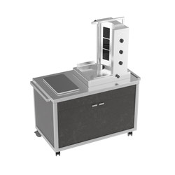 Special carts | Shawarma cart | Cocinas modulares | La Tavola