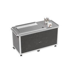 Grill/Plancha cart | Modular kitchens | La Tavola