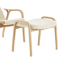 Lamino foot stool in rattan | Pouf | Swedese