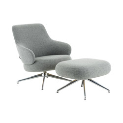 Pillo easy chair low back | Sessel | Swedese