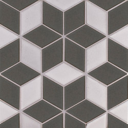 Brownstone Diamond Pattern #1 | Keramik Fliesen | Pratt & Larson Ceramics