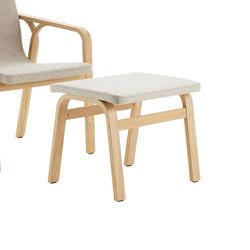 Mino foot stool | Poufs / Polsterhocker | Swedese