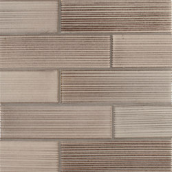 2x8 Brownstone Raked | Ceramic tiles | Pratt & Larson Ceramics
