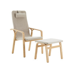 Mino easy chair high back | Armchairs | Swedese