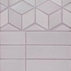 Brownstone Diamonds and 2x8 Brick | Baldosas de cerámica | Pratt & Larson Ceramics