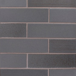 Brownstone 2x8 Smooth | Brick | Raked | Carrelage céramique | Pratt & Larson Ceramics