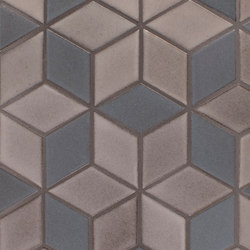 Brownstone Diamonds | Carrelage céramique | Pratt & Larson Ceramics