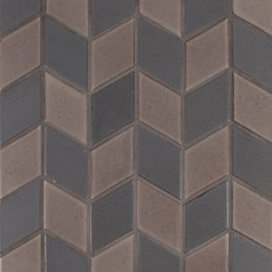 Brownstone Diamond Pattern #2 | Carrelage céramique | Pratt & Larson Ceramics