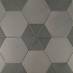 "4"" Equilateral Triangle and 8"" Hexagon 