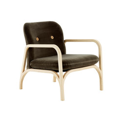 Button easy chair | Armchairs | Swedese