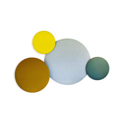 Pillow Round | Sound absorbing wall systems | Cascando