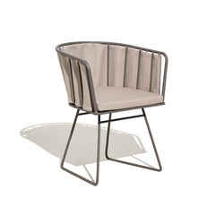 Illa armchair with pad cushion | Chaises | Bivaq