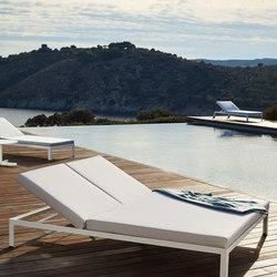 Nak double deckchair | Lettini giardino | Bivaq