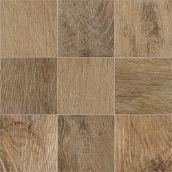 Ecotimber | MP380 Oak 10x10 cm | Ceramic tiles | IMSO Ceramiche