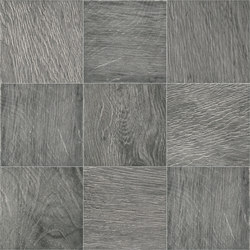 Ecotimber | MP382 Ebony 10x10 cm | Ceramic tiles | IMSO Ceramiche