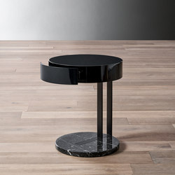Ralf Night table | Nachttische | Meridiani