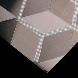 Stainless Steel | 260 | Cube | Plaques de métal | Inox Schleiftechnik