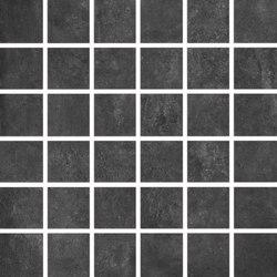 Bibulca | Black Mosaico 5x5 cm | Keramik Mosaike | IMSO Ceramiche