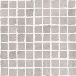Bibulca | Taupe Mosaico Spaccatella 3x3 cm | Ceramic mosaics | IMSO Ceramiche