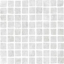 Bibulca | White Mosaico Spaccatella 3x3 cm | Mosaïques | IMSO Ceramiche
