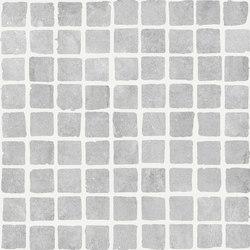 Bibulca   Gray Mosaico Spaccatella 3x3 cm   Mosaïques céramique   IMSO Ceramiche