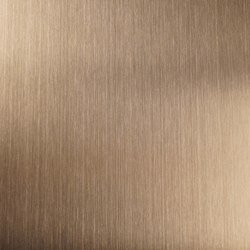 Nordic Brass | 1130 | Hairline medium | Bleche | Inox Schleiftechnik
