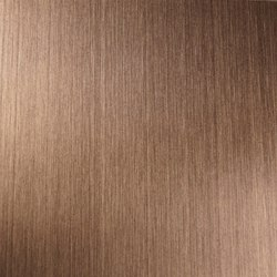 Nordic Brass Weathered | 1130 | Hairline medium | Lastre | Inox Schleiftechnik