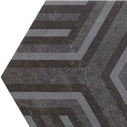 Bibulca | Esagona Frame 21x18 cm | Ceramic tiles | IMSO Ceramiche